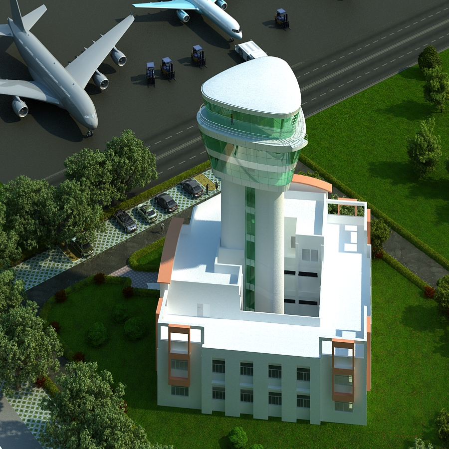 Airport Terminal Building,Ranchi Airport