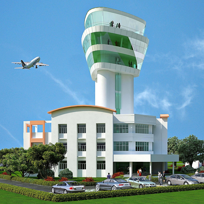 Airport Terminal Building,Ranchi Airport  <small>Birsa Munda AIrport </small>