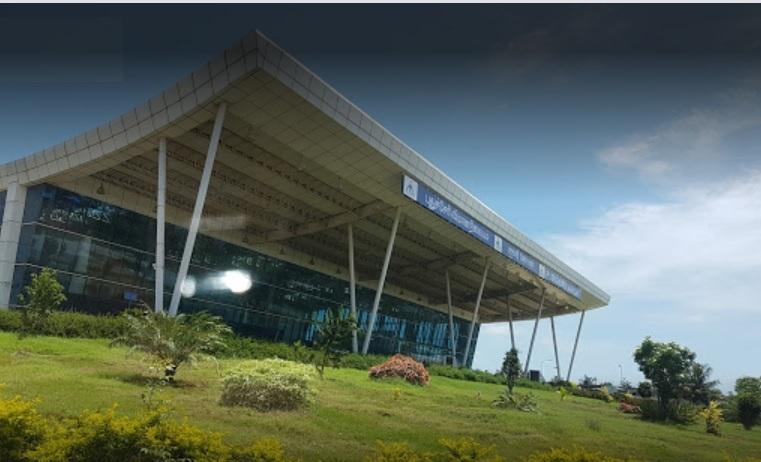 Airport Terminal Building, Puducherry Airport  <small>Puducherry Airport</small>