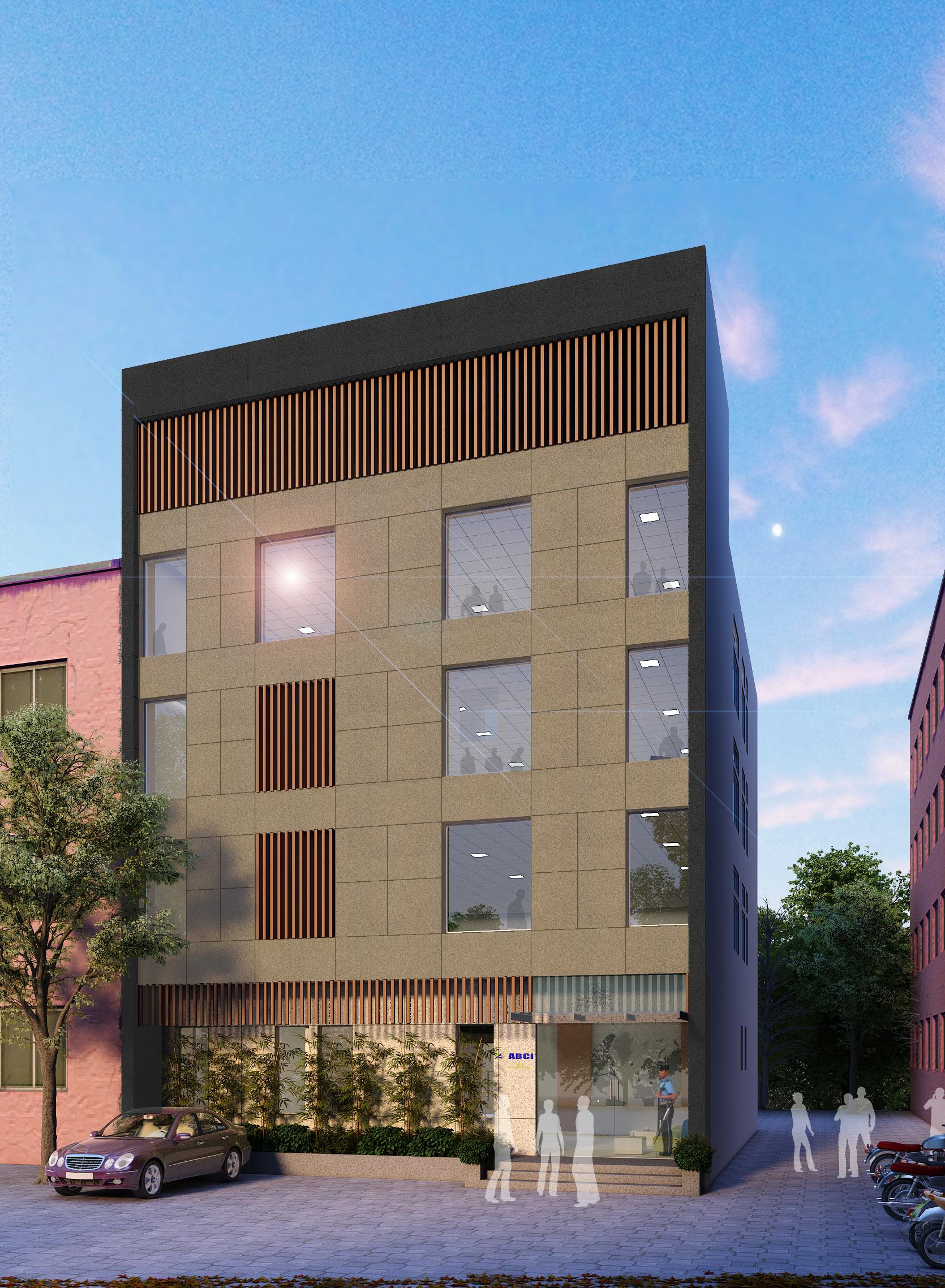 OFFICE BUILDING <small>DELHI</small>